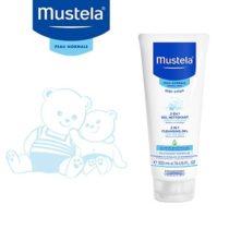 MUSTELA 2 en 1 Gel Nettoyant corps et cheveux bébé – 200ml