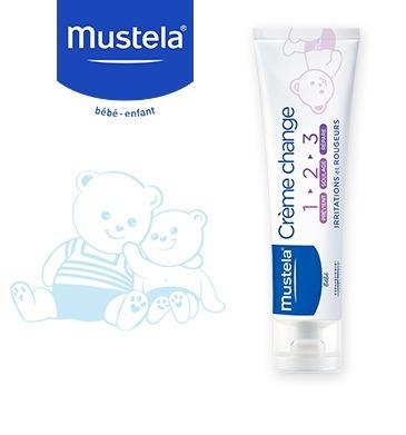 MUSTELA Crème change 1 2 3 -100ml