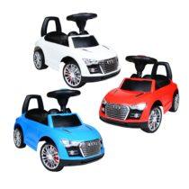 Babycar Porteur Audi 3 couleurs