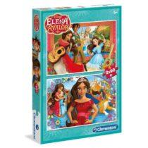 2 Puzzle 60 Pièces Elena D'Avalor – Clementoni