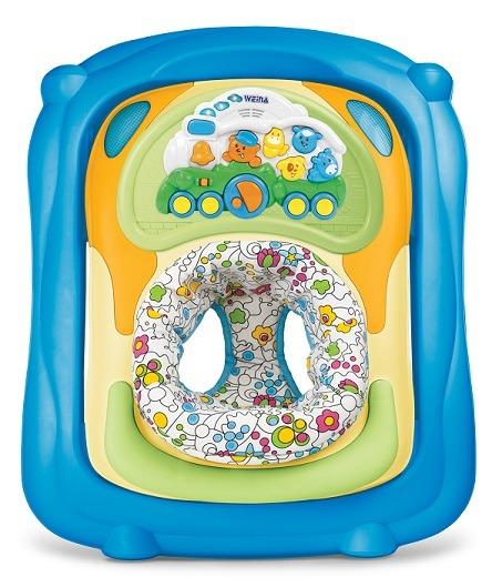 BABY WALKER 2 EN 1 blue – WEINA
