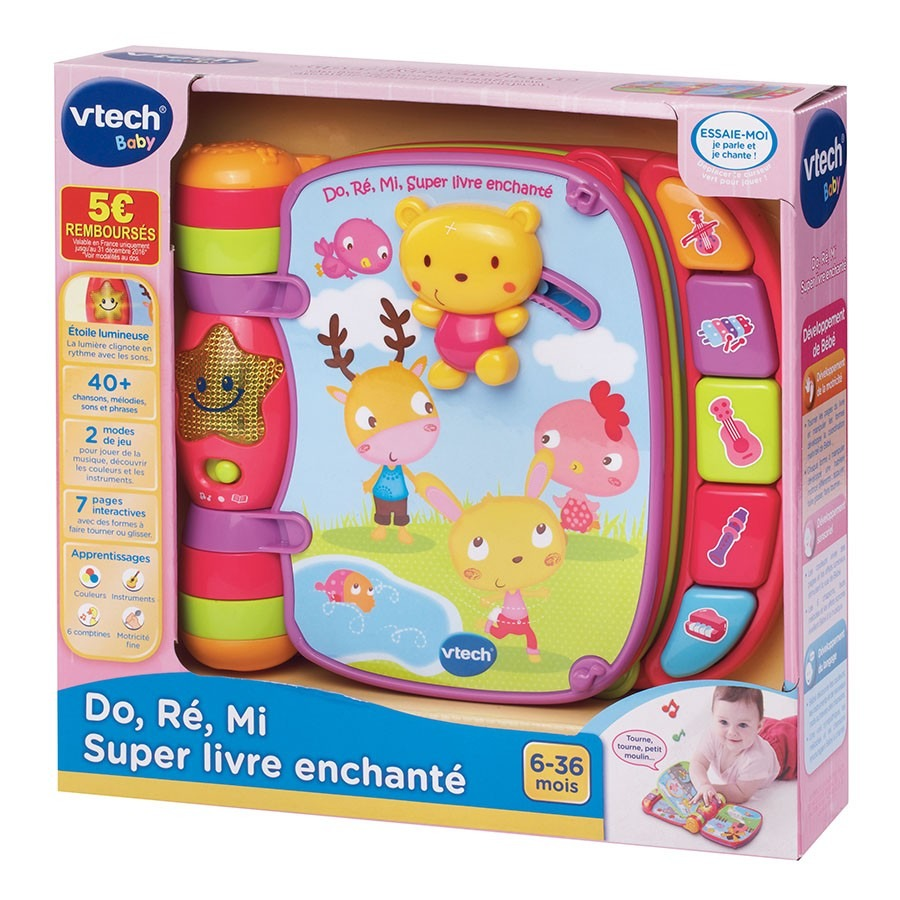 Do Re Mi Super Livre Enchante Vtech