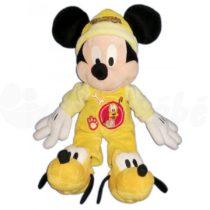 Doudou Peluche Mickey Pyjama Jaune Chaussons Pluto 42 Cm Disney