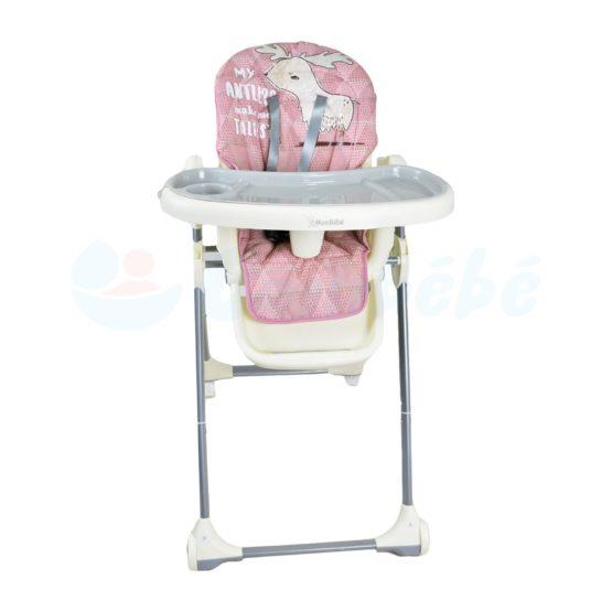 Chaise haute -Monbébé