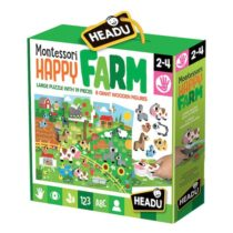 Puzzle Montessori Happy Farm – Headu
