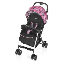 Poussette Mini large Chouette Rose – BREVI