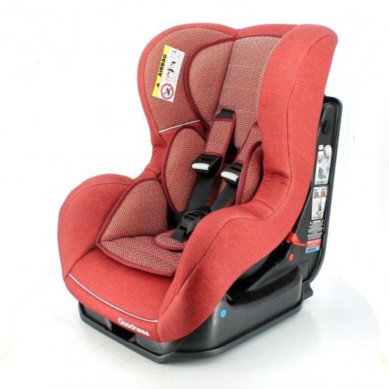 Siege auto DRIVE Isofix Gr0/1 Rouge 0-18Kg -Goodness