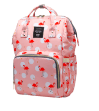 Sac à dos de maternité multifonctionnel Flamingos – Ganen